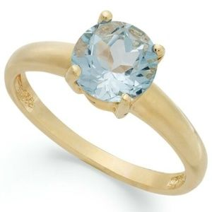 Victoria Townsend 18K Gold Over SS Ring Size 5